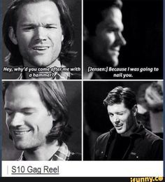 Supernatural Jensen.....*that wink*