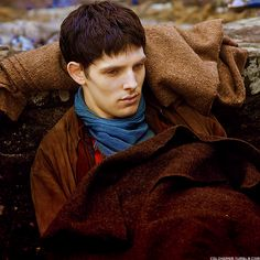 Merlin in Darkest Hour Part 2 - if the touch of the Dorocha meant instant death...Merlin was the only one who was able to survive its touch for that long before he was healed.