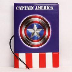 Captain America Passport Holder