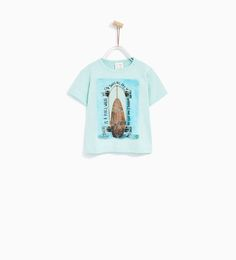 Image 1 of LONGBOARD T-SHIRT from Zara