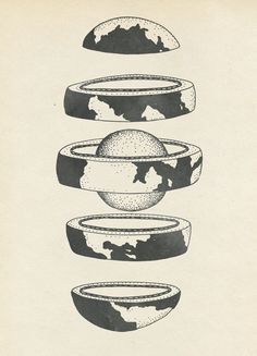 Earth by Katie Scott, Jules Verne science in Just stuff I like