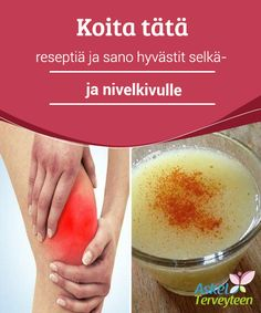 Recipe to Help Alleviate Back and Joint Pain — Step To Health Health Diet, Health Fitness, Skin Care Cream, Health And Beauty Tips, Natural Home Remedies, Health Remedies, Body Care, Healthy Life, The Cure
