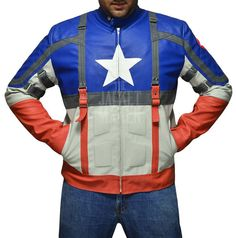 Captain America The First Avenger Steve Rogers Leather Jacket