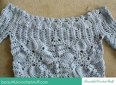 Crochet Beach Cover Up Pattern | Beautiful Crochet Stuff