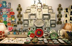 John Derian booth at the Javits Center