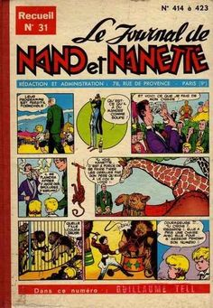 (Recueil) Nano et Nanette (Le Journal de) -31- N°414 à n°423