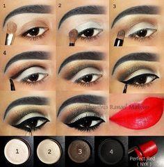 Wundervolles Make-up - - Pretty Eye Makeup, Makeup Eye Looks, Makeup Is Life, Eye Makeup Steps, Makeup For Green Eyes, Body Makeup, Eyebrow Makeup, Gorgeous Makeup, Skin Makeup
