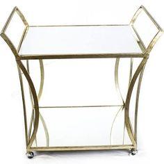 gold bar cart - Google Search