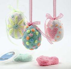 Glad påsk med foam clay! Foam clay på ägg