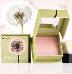 benefit blush in dandelion