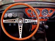 triumph spitfire red interior - Google Search