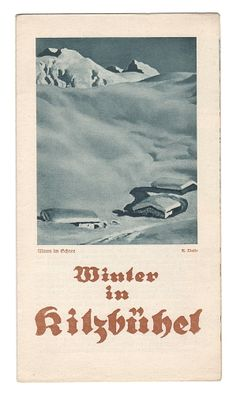 Winter in Kitzbühel. - 1929