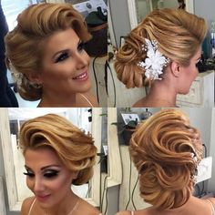 Top Easy Summer Hairstyles Ideas & Trends for Hot Days Easy Summer Hairstyles, Fancy Hairstyles, Hair Inspo 2018, Finger Wave Hair, Hair Up Styles, Vintage Wedding Hair, Pin Up Hair, Pinterest Hair, Mi Long