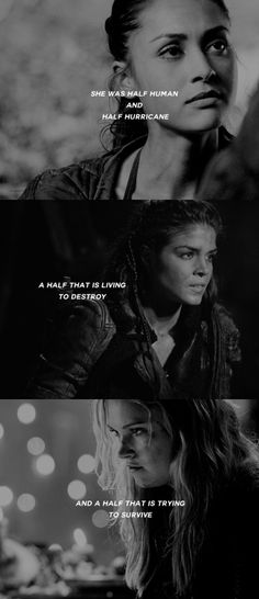 Raven Reyes, Octavia Blake and Clarke Griffin || Ladies of the 100 || The 100 || Lindsey Morgan, Marie Avgeropoulos and Eliza Jane Taylor