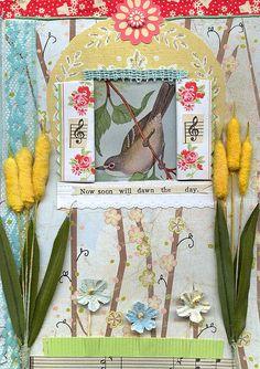 spring paper art
