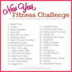 New Year #Fitness Challenge - In Photos with www.OneRollataTime.com - #photography