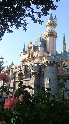 Disneyland, Sleeping Beauty Castle, photo by Jenna Graviss