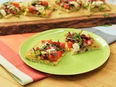 Get Ratatouille Flatbread Recipe from Food Network