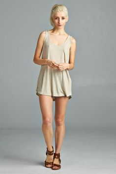 Pocket Tank- Taupe $10 with Free Shipping!