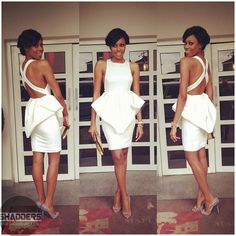 The Beautiful African Actress Yvonne Nelson..white is always right.