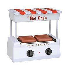 Nostalgia Electrics™ Old-Fashioned Hot Dog Roller Grill Price: USD 32.95   UnitedStates