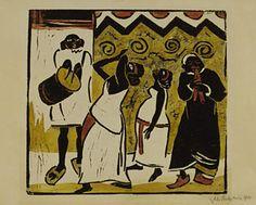 Somali Dance, 1910, Max Pechstein, MoMA | German Expressionism Themes: Primitivism