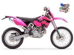 Sexy pink KTM... fuck i need this in my life.