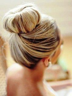 Blond haar / bruin