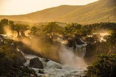 Sunrise at Epupa Falls, Namibia ©Neville Lance