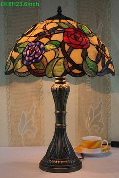 Dragonfly Tiffany Lamp  16S4-304T284