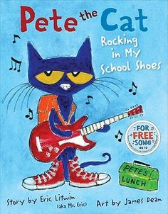 Pete discovers the library, the lunchroom, the playground, and lots of other cool places at school. And no matter where he goes, Pete never stops moving and grooving and singing his song--because it's all good.