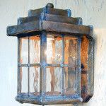 Step Pyramid Lantern with Lower End Open