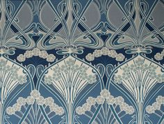 Ianthe Ocean Wallpaper by Liberty of London
