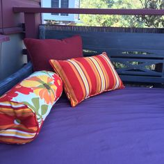 Indoor/outdoor pillows from Home Goods.