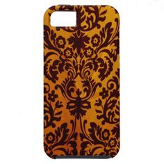 elegant damask pattern iphone 5 case / cover See more eye catching unique designs here