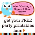 FREE Giggle & Hoot Inspired party printables here...http://www.marabous.com.au/blog/2011/08/diy-owl-cupcake-toppers-printables/