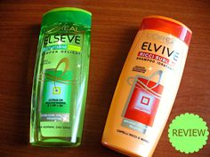 Two Shampoos from L'Oreal [review] Shampoos, Loreal, Cleaning Supplies, Soap, Skin Care, Bottle, Cleaning Agent, Skincare Routine, Flask