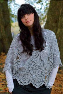 Floating Wrap By Faye - Purchased Crochet Pattern - (crochetbyfaye.blogspot)