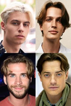 grunge bands Mens Hairstyles Trends for 2017 - Curtains and Centre Partings 90's Mens Hairstyles, Vintage Hairstyles For Long Hair, Mens Medium Length Hairstyles, Hairstyle Men, Classic Mens Hairstyles, Trending Hairstyles, Middle Part Hairstyles Men, Centre Parting Hairstyles, Medium Hair Cuts