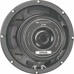 """Eminence Alpha-8A 8"""" Replacement Speaker, 125 Watts at 8 Ohms"""
