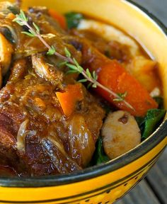 Best Braised Short Ribs With Swiss Chard Recipe on Pinterest