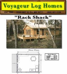 Voyageur Log Homes - Log Home Floor Plans