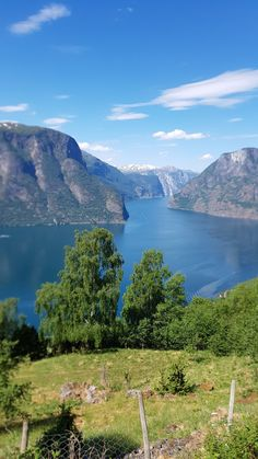 Sogefjorden i Norge