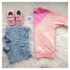 Pink moccs