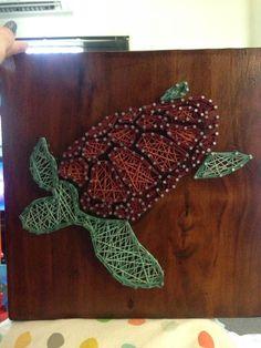 String art Turtle by Erin Landles (SnarkNerdy / Captain Marauder)