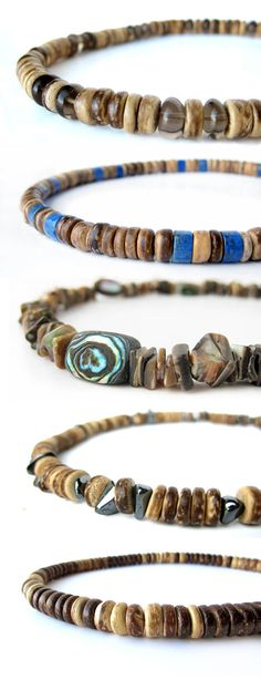 wooden necklace for men Men/'s jewelry Sand Dunes