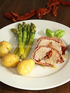 Recette de Filet mignon farci à la mozzarella et aux tomates séchées : la recette