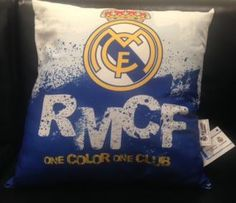Carbotex Vankúš Real Madrid 3, 40x40cm One Color, Real Madrid, Pillows, Throw Pillow, Cushions, Cushion, Scatter Cushions