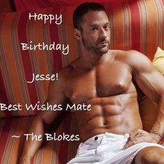 Happy Birthday Jesse!    www.facebook.com/thundervegas  www.thunderfromdownunder.com