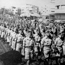 Five weeks after the Balfour Declaration, the British Army entered and occupied Palestine. The League of Nations had given Britain a mandate to rule over Palestine after World War I. Over the next ten years of British occupation of Palestine, thousands of Jews immigrated to Palestine and built a large Jewish community.